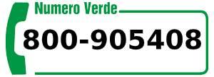 Numero verde 800-905408